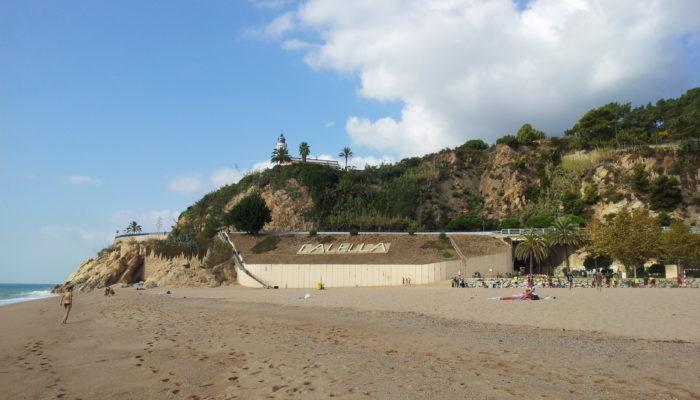 Tischtennis Urlaub Calella Strand Impressionen